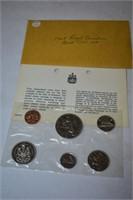 1969 Royal Canadian Mint Set