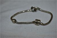 """""""Halia"""" Sterling Silver Bracelet Marked 925"""