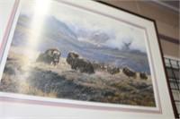 Seerey Leseer LE buffalo print