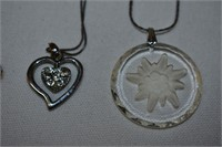 (4) Sterling Silver Necklaces Stamped 925