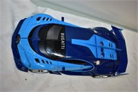 "14"" Plastic Bugatti Car"