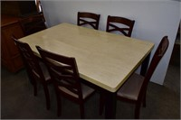 Kitchen Table & (6) Chairs