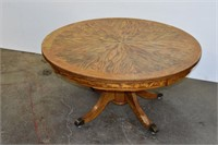 Vintage Round Coffee Table (Imperfect)
