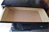 China/Media Cabinet & 5-Drawer Block Dresser