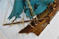 """Vintage Wood Model Sale Ship 28""""x24"""""""