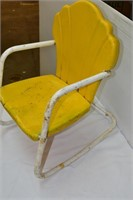 Metal Shell Childs Outdoor Chair