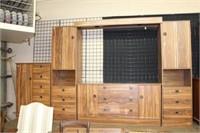 Bedroom suite unit