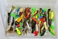 Group of Fishing Lures, Bait & Sinkers