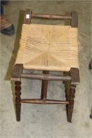 Early chair & foot stool