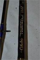 (2) Fishing Rods with Bazuka Case