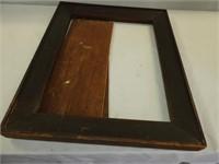 """Old 45""""s & Hanging Frame"""
