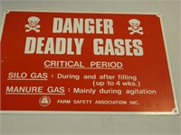 Deadly Gas Sign