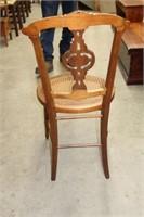 Eastlake parlour chair