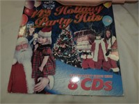 Holiday Plates, Album, Cassettes, Gift Bags, etc.