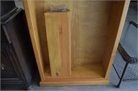 Pine Book Case with (5) Adjustable Shelves