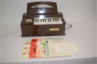 Magnus Electric Organ with Music Books