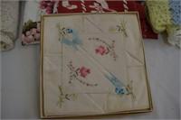Assortment of Vintage Linens & Lace