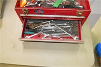 "20"" Metal Toolbox with Contents"