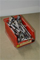 Bin of Craftsman Sockets and Ratchets