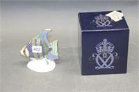 "Royal Crown Derby fish & box - 5"""