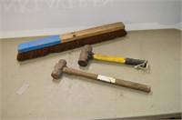 Broom Head and (2) Sledge Hammers