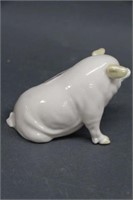 Belleek pig