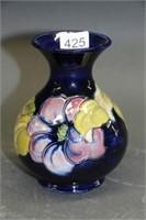 "Moorcroft vase - 5"""