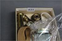 Box of lantern parts