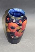 "Moorcroft vase - 8.25"""
