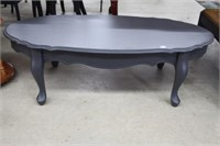 """Painted coffee table - 48"""" x 23"""""""