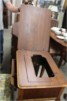 Sewing machine cabinet & bench