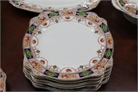 "Partial set of Staffordshire ""Hampton"" dishes"