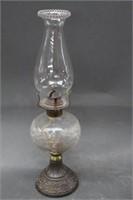 """Oil lamp - 16"""""""