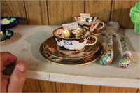 Royal Crown Derby & Aynsley cup & saucer