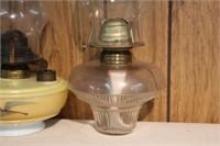 "2 oil lamps - 12"" & 13"""