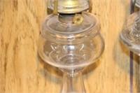 "2 oil lamps - 16"""