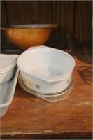 Group of Conrningware & bake dishes