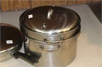 Fry pan, pots, etc.