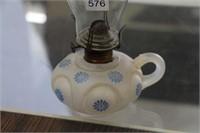 """Finger oil lamp - 10"""""""