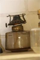 3 partial oil lamps