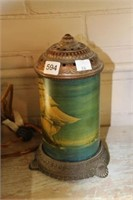 Antique ship lamp (working) - 9""