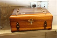 Dovetailed wood box