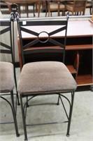 Pair of pub hight bar chairs