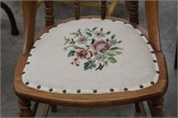 Needlepoint antique chair