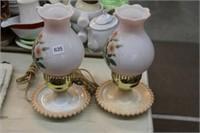 """Pair of lamps - 11"""""""