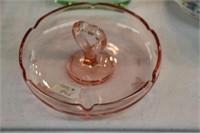 Depression glass bowl & serving dish