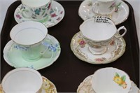 6 cups & saucers