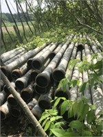 """98 & 4 short Pcs of Ames 5""""x30' irrigation pipe"""