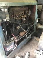 6 cylinder irrigation motor & pump - as is