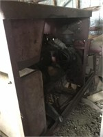 6 cylinder gas irrigation motor & pump - as is